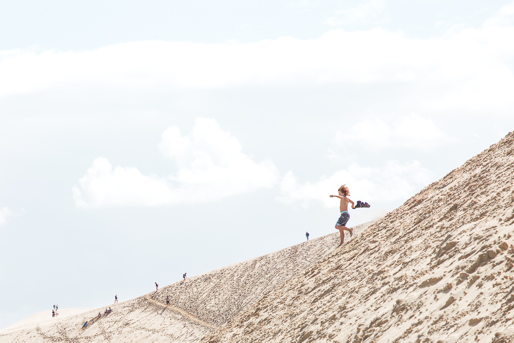 Dune Du Pilat Child Run Copyright Luca Bacciocchi